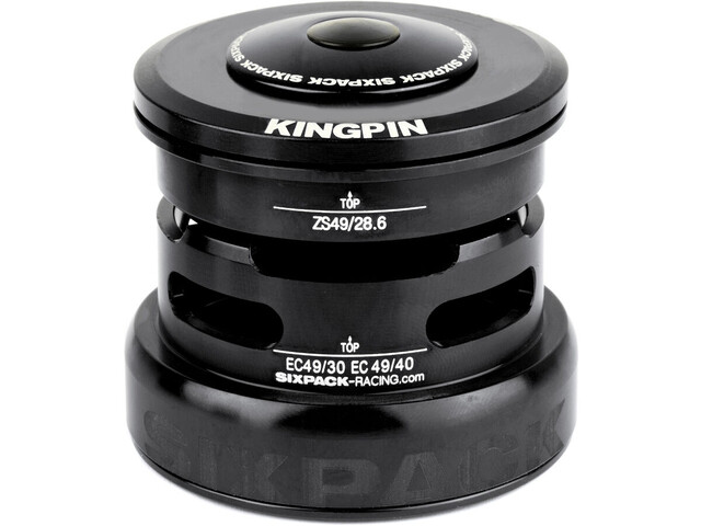 Sixpack Kingpin 2In1 Headset ZS49/28.6 I EC49/30 and ZS49/28.6 I EC49/40, black